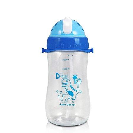 Garrafa Squeeze 480ml Pequeninos Dino Azul Escuro Jacki Design - ATB17390