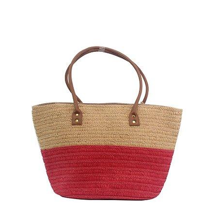 Bolsa de Praia Tote Bag Pagani Vermelho PG6930
