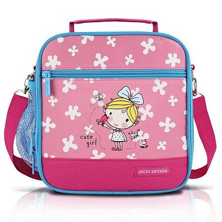 Lancheira Térmica Pequeninos Jacki Design Passarinho Pink - AHL17273