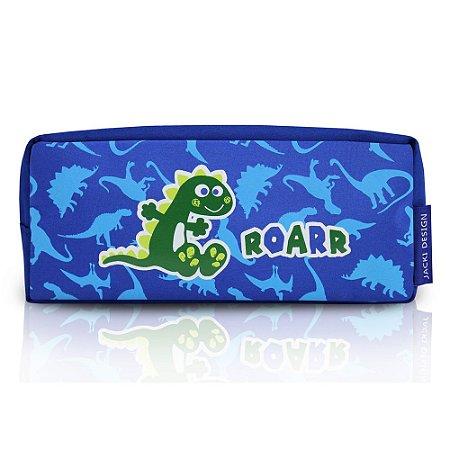 Estojo Escolar Pequeninos Dino Roarr Jacki Design - AHL17267
