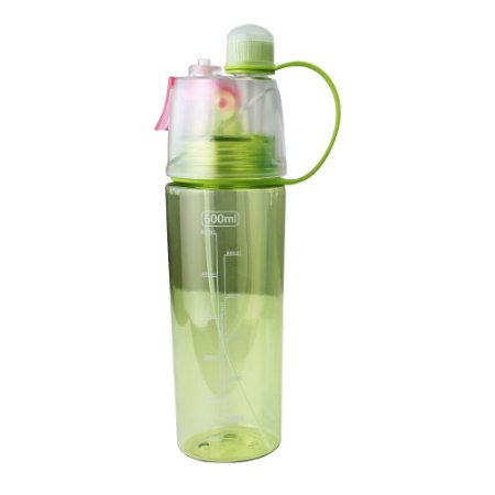 Garrafa Plástica com Borrifador 600ml Verde Casita - SM019