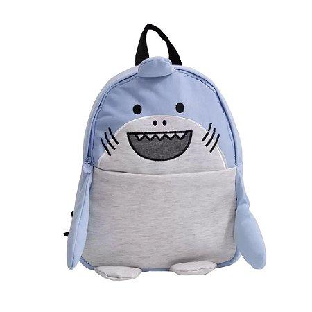 Mochila Infantil Escolar Animais Clio Tubarão - CP2173P