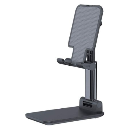 Suporte de Mesa para Celular Smartphone Tablet Preto