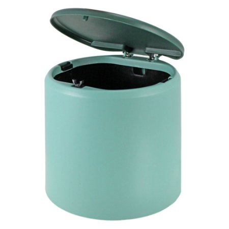 Cesto de Lixo com Tampa (P) Loft Turquesa Jacki Design - AWF20922