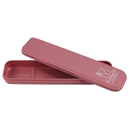 Porta Talheres Portátil Concept Rosa Jacki Design - AHX20929
