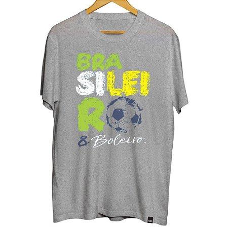 Camiseta Brasileiro e Boleiro