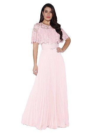 Vestido Longo Dress Fasciniu's Roupas Evangelicas