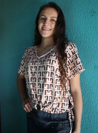 Blusa Cropped Evangélica Roupas Femininas