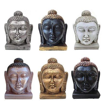 07d0ed19eb1a7 Cabeça Buda Hindu Tibetano Meditação Cores Decoração - Mahalo ...