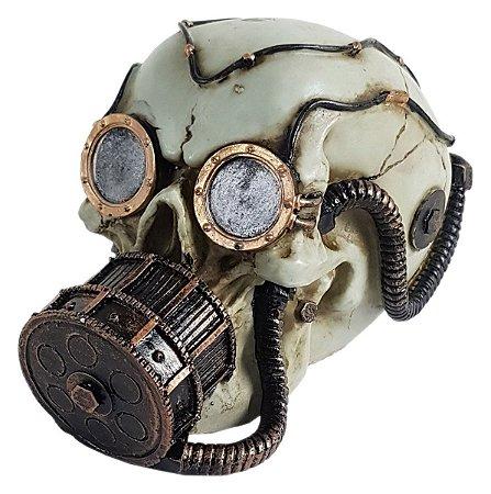 6f1e3b799941b Crânio Caveira Mergulhador Máscara Oxigênio Decoração - Mahalo ...