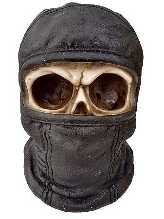 c9145ae104c03 Crânio Caveira Ninja Moto Balaclava Touca Ladrão Bandido - Mahalo ...