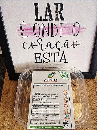 Biscoito de Coco Recheado