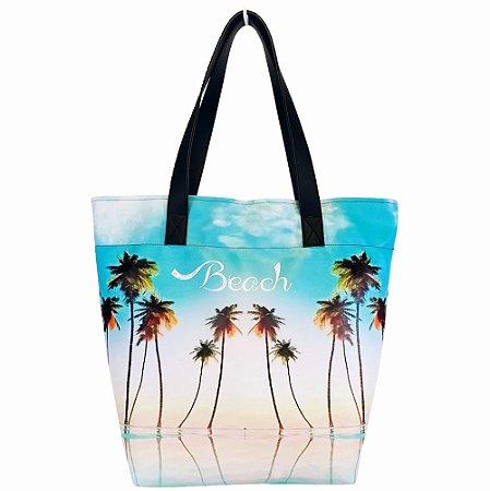 Bolsa Feminina Impermeável Praia Céu Azul, Magicc