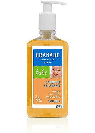 Sabonete Líquido Bebê Camomila 250ml Granado