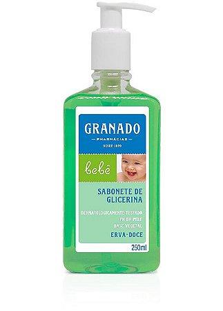 Sabonete Líquido Bebê Erva-doce 250ml Granado