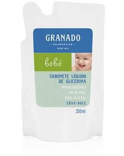 Refil Sabonete Líquido Erva-doce 250ml Granado