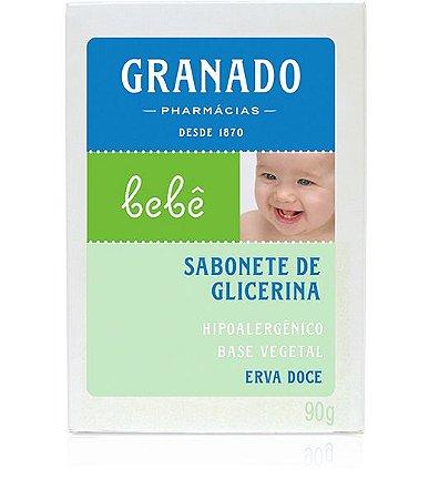Sabonete Barra Bebê Erva-doce 90g Granado