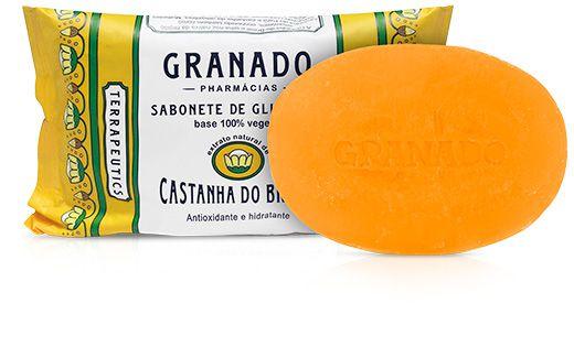 Sabonete Barra Castanha do Brasil 90g - Granado