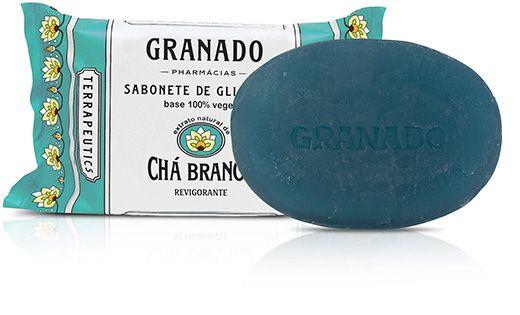 Sabonete Barra Chá Branco 90g - Granado