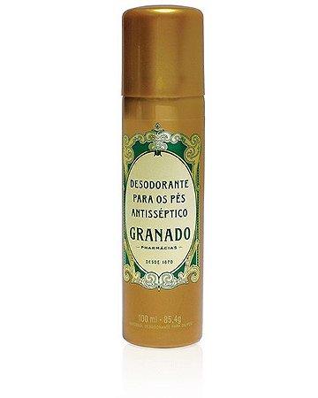 Desodorante Aerossol para Pés Tradicional 100ml/ 85,4g - Descrição