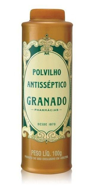 Polvilho Antisséptico Tradicional 100g - Granado