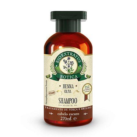 Shampoo Botica Henna 270mL - Bio Extratus
