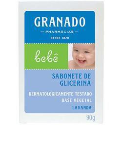 Sabonete Barra Bebê Lavanda 90g - Granado