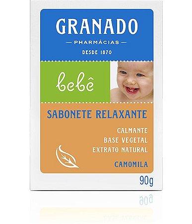 Sabonete Barra Bebê Camomila 90g - Granado