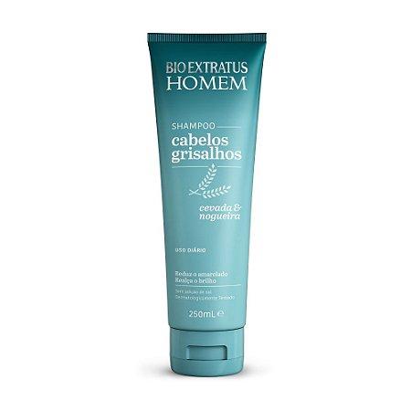 Shampoo Cabelos Grisalhos 250mL - Bio Extratus