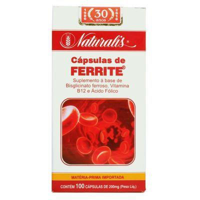 Ferrite® 30 Cápsulas - Naturalis