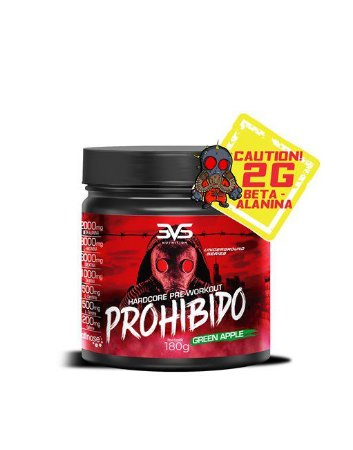 Prohibido 180g c/ Beta Alanina - 3VS Nutrition