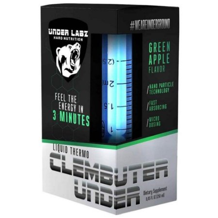 Clembuter Under - Under Labz - Termogênico Líquido 50 Doses