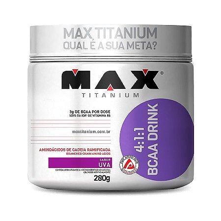 BCAA em Pó Drink 280g - Max Titanium