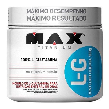 Glutamina 300g - Max Titanium