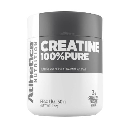 Creatina 100% Pure 50g - Atlhetica Nutrition
