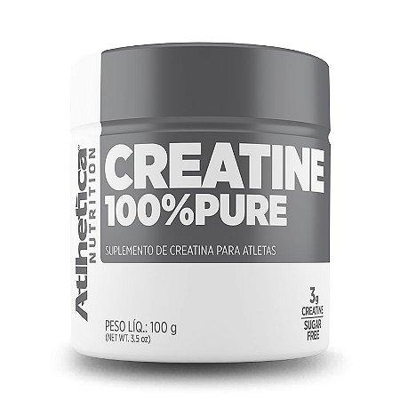 Creatina 100% Pure 100g - Atlhetica Nutrition