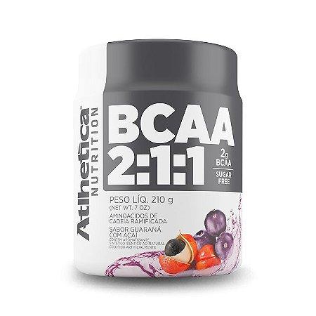 BCAA 2:1:1 em Pó 210g - Atlhetica Nutrition