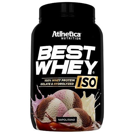 Best Whey Iso Hydrolyzed 900g - Atlhetica Nutrition