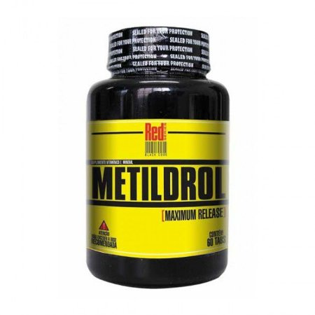 Metildrol Pró Hormonal 60 Tabletes - Red Series (Venc: 03/09/2019)