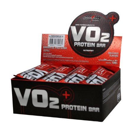 Barra de Proteína VO2 Bar 12 unidades - IntegralMedica