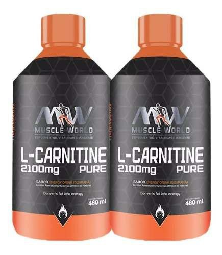 Kit 2 L-Carnitine´s  Pure (480ml cada) Total 960ml - Midway