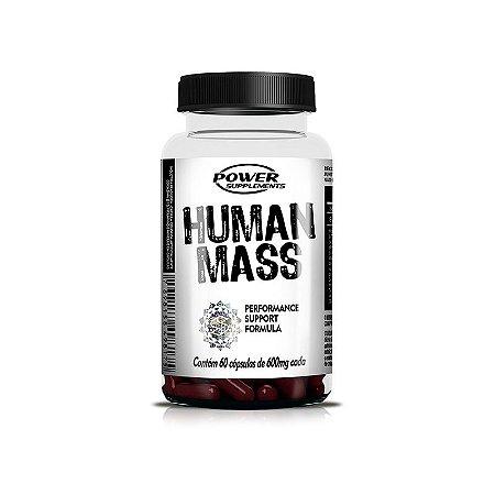 Human Mass Pré Hormonal 600mg 60 Cápsulas - Power Supplements