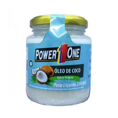 Óleo de Coco 200ML Extra Virgem - Power One