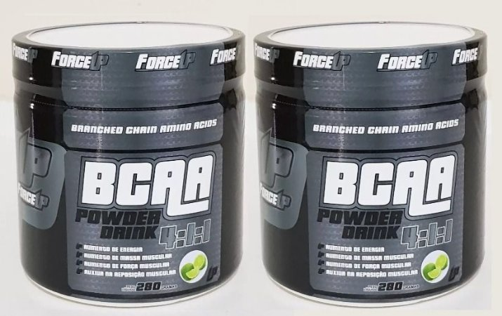 Kit 2x BCAA Drink em Pó 4:1:1 280g cada - Force UP