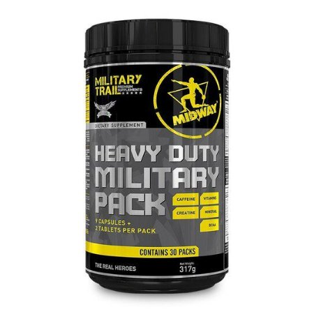 Pack Heavy Duty Military 30 Pack´s - Midway