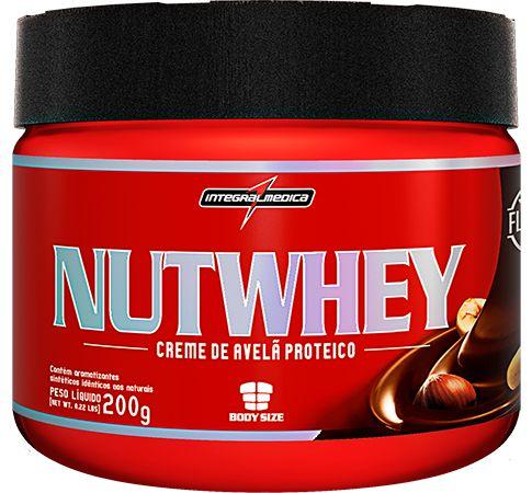 Creme de Avelã Protéico Nutwhey Cream 200g - Integralmedica