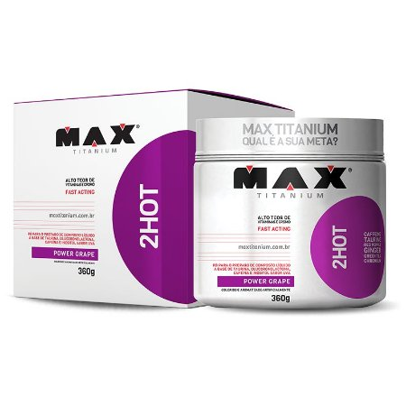 Termogênico 2 HOT 360g - Max Titanium