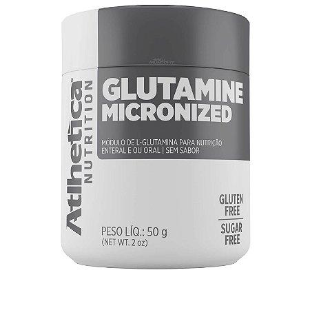 Glutamina Micronizada 50g - Atlhetica Nutrition