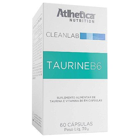 TAURINA B6 Cleanlab 60 Cápsulas - Atlhetica Nutrition
