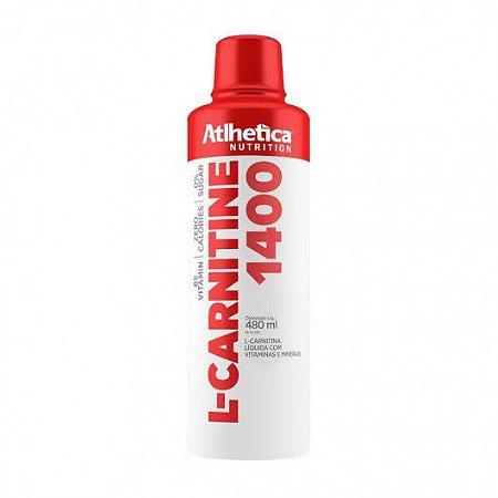 L Carnitina 1400 480ml - Atlhetica Nutrition